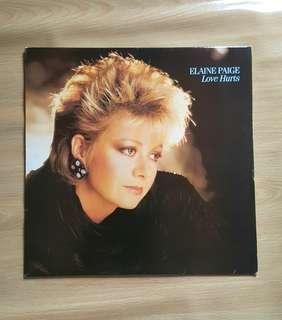 Elaine Paige - Love Hurts ( Ablum vinyl record)