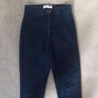 High Rise American Apparel Easy Jean