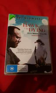 The hawk is dying DVD