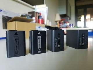 sony NP-FW50,NP-FV100A Camera HandyCam battery