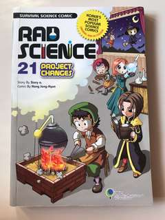Science comic book