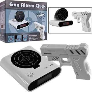Gun Alarm Clock 射靶 創意鬧鐘