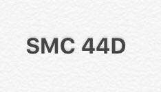 SMC 44D new car plate number for sale