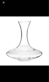 Brand new wine decanter