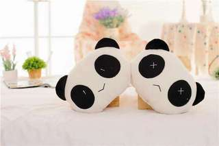 Car panda pillow