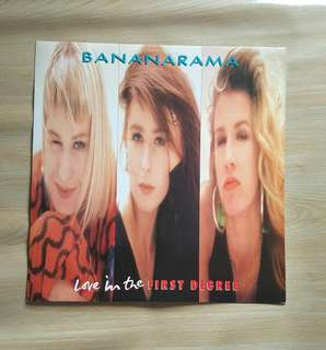 Love In the First Degree - Bananarama ( 12'Single Vinyl Record)