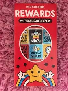 240 Mini Stickers <Rewards>