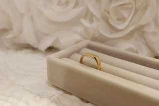14K Solid Gold Signet Ring