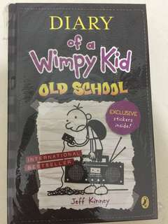 Diary of Wimpy Kid hardcover series