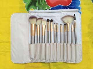 12pcs CHAMPAGNE GOLD BRUSH