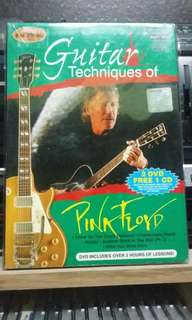 Pink floyd guitar technics by james humphries dvd