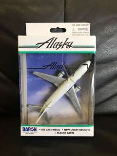 Alaska Airlines Airplane Aircraft Model