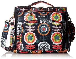 Jujube Dancing Dahlia Diaper Bag  ( New )