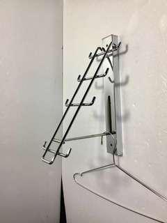 🚚 壁式吊衣架/不用可收起