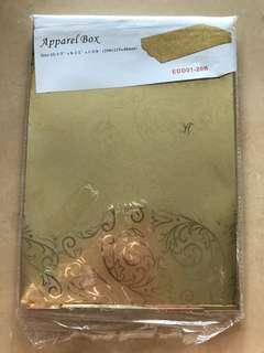 BN Gold Apparel Box
