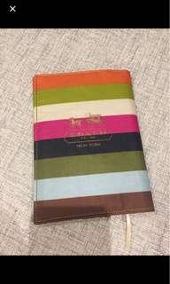 Coach passport/ notebook holder