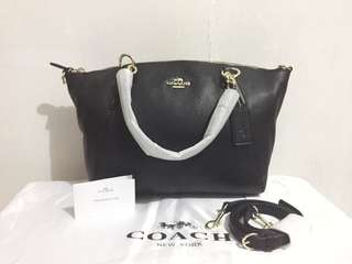 Coach Small Kelsey Pebble Leather (Authentic)