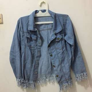 tassel denim
