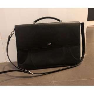 🚚 Braun Buffel Briefcase with Sling