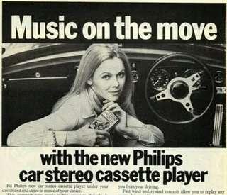 古董車音響 飛利浦 卡式收音機