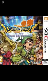 dragon quest vii 3ds fragments of the forgotten past