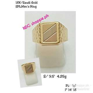 4.25g pure gold ring men