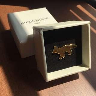Maison Kitsune Classics Fox Pin / Brooch