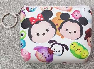 Tsum Tsum Coin Purse with Key Ring