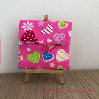 'Shape the ❣ ' Sanitary pad pouch