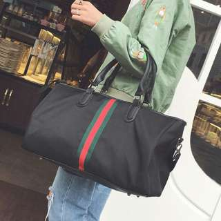 Gucci-inspired Large Sports/Travel Bag
