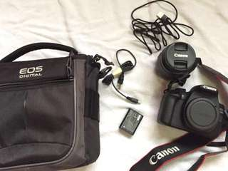 CANON EOS 1200D with TRIPOD (negotiable)