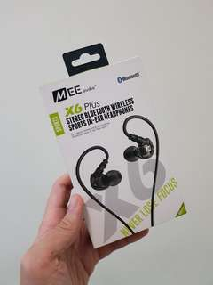 Mee Audio Wireless Earphones (X6 plus)