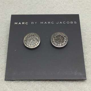 Marc Jacobs Sample Earrings 黑色閃粉耳環