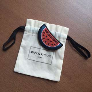 Maison Kitsune Watermelon Pin / Brooch