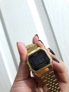 Casio Gold Metal Watch