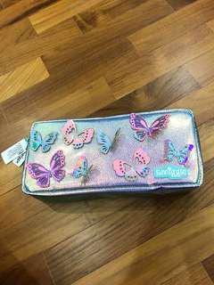 Smiggle butterfly Pencil Case