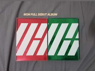 iKON DEBUT FULL ALBUM [Red + Green Ver.]