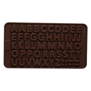 Alphabet silicone cake  mould decorating fondant cookie chocolate mould #July100