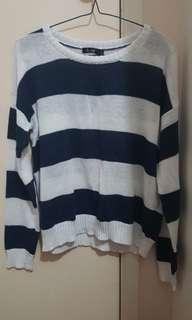 Striped knit size 8