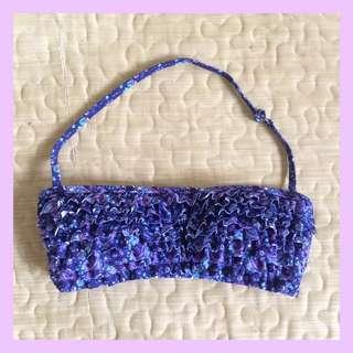 Blue & Purple Bikini Top