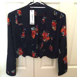Boohoo Floral Top / Blouse