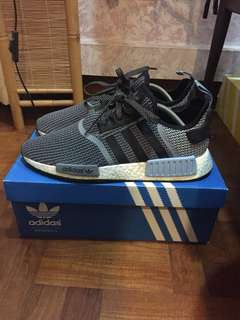 AUTHENTIC Nmd R1 Circa Knit Clear Blue