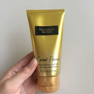 victoria secret coconut passion lotion