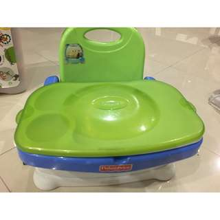 Fisher price heatly care booster chair