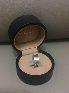Bulgari Bvlgari 18k white gold B.Zero 1 ring 3環 戒指