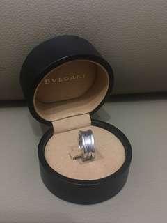 Bulgari Bvlgari 18k white gold B.Zero 1 ring 3環 戒指