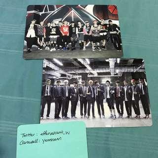 [2 for RM50] EXO Growl Promo Card OT12 Official Group Photocard