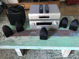 Denon AVR3310 7.1 Channel Surround System and DVD Player