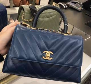 Chanel coco handle bag代購