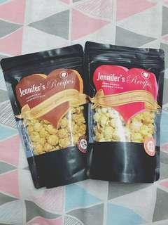🚚 爆米花-經典焦糖&鹹甜奶油兩包一起賣
